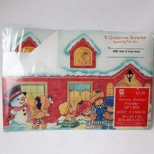 Vintage Strawberry Shortcake Gift Box NIP Carlton